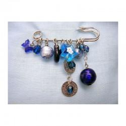 BLUE WALKING PINS