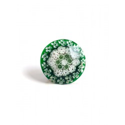 Emerald Murine Venice Brooch