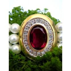 Choker en cristal de Swarovski et perles nacrées