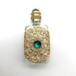 miniature de parfum petit 13 doré vert