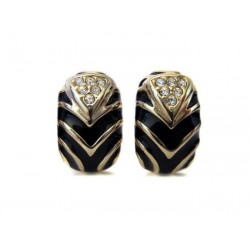 MAGNIFICENT JEWELERY STRASS CLIPS EARRINGS