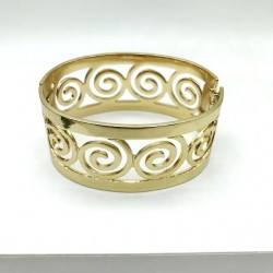 WOMEN'S ARTICULATED GOLDEN CUFF