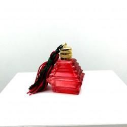 Miniature de parfum collection lecythiophile pyramide rouge pompon
