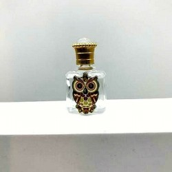 MINIATURE OF PERFUME COLLECTION OR FOR THE WHITE GLASS BAG OWL EMAIL