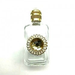 PERFUME MINIATURE FOR THE BAG - LECYTHIOPHILE COLLECTION - FILIGRANE AJOURE GOLDEN