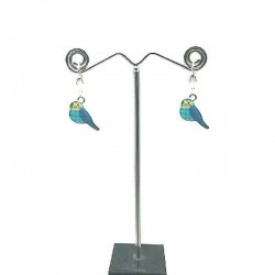 PIGEON EMAIL PENDANT EARRING