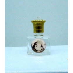 MINIATURE PERFUME OF COLLECTION OR FOR THE BAG COLOR WHITE DECOR CAME