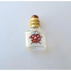 MINIATURE PERFUME COLLECTION OR FOR THE WHITE BAG DECOR LADYBUG